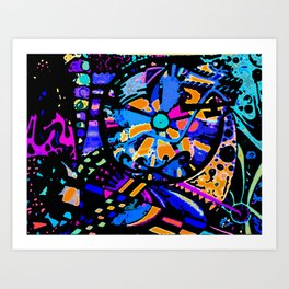 Freestyle Art Print