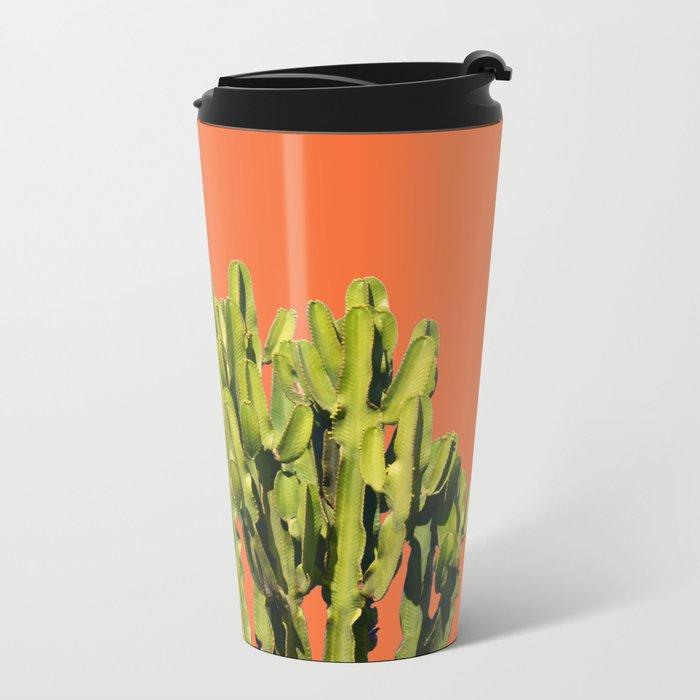 Bold Cactus #society6 #cactus #buyart Metal Travel Mug