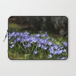Blue Scilla Laptop Sleeve