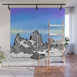 Monte Fitz Roy Wall Mural