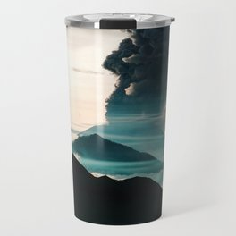 Mount Agung Volcanic Eruption Travel Mug