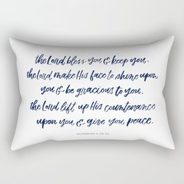 Blessing Rectangular Pillow