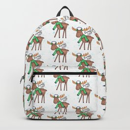 Bundle Up Cold Moose Backpack