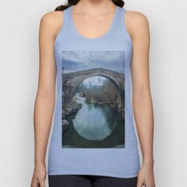 The hump-backed Roman Bridge Unisex Tank Top