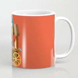 Alpaca Coffee Shop Coffee Mug