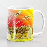 dune Mugs featuring Sun  Dune by JT Digital Art