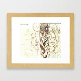 Aqueous Framed Art Print