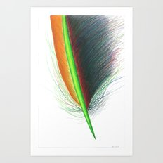 Feather #9 Art Print