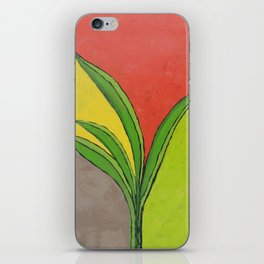 Snake Plant iPhone Skin