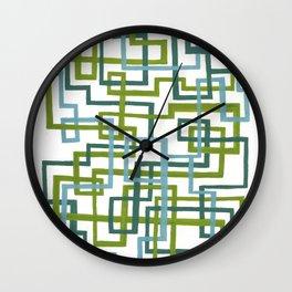 In Transit Wall Clock