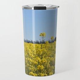 Yellow Canola Fields Travel Mug