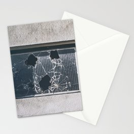 ghosts of silver past Stationery Cards