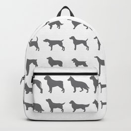 All Dogs (Grey/White) Backpack