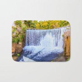 Monk's waterfall Bath Mat
