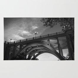 Bridges not Walls Rug