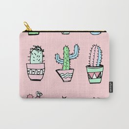 Cactus Party Carry-All Pouch