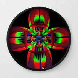 Looking Deep Within Wall Clock