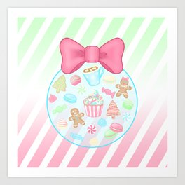 Christmas Sweets Art Print