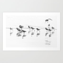Running with the Tide Art Print