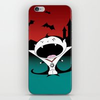 dracula iPhone & iPod Skins featuring Dracula by Primal Dream