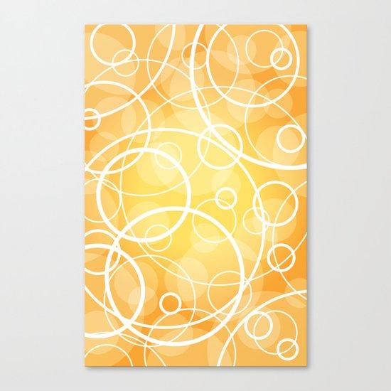 Hard Line Bokeh Canvas Print