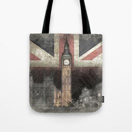 Big Ben United Kingdom Tote Bag