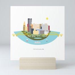 Pittsburgh Mini Art Print