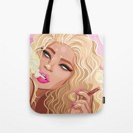 Smokin' Kylie Tote Bag