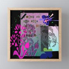 Dream Big  Framed Mini Art Print