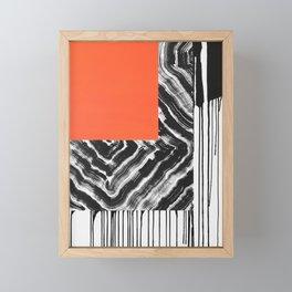 LAYERS#01 Framed Mini Art Print