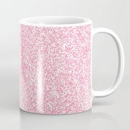 Spacey Melange - White and Flamingo Pink Coffee Mug