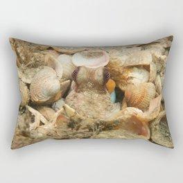 Octopus Staredown Rectangular Pillow