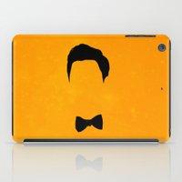 darren criss iPad Cases featuring Darren Criss Hair & Bowtie by byebyesally