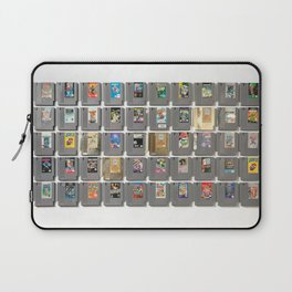 50 Nintendo Games Laptop Sleeve