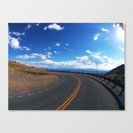 Bear Tooth Highway Canvas Print
