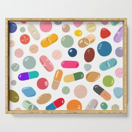 Sunny Pills Serving Tray