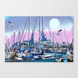 Stretching High Canvas Print