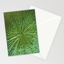 Emerald Ripple Stationery Cards