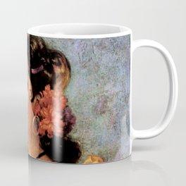 Mexican Golden Flamenco Calendar Girl by Jesus Helguera Coffee Mug
