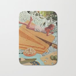 Money Can't Buy You Happiness, But It Can Buy You Cheese Bath Mat