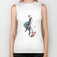 durarara Biker Tanks featuring Heiwajima Shizuo 1 by Prince Of Darkness