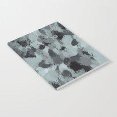 Black and Smokey Blue Pastels 3216 Notebook