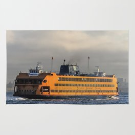 The Staten Island Ferry (Broadside) Rug