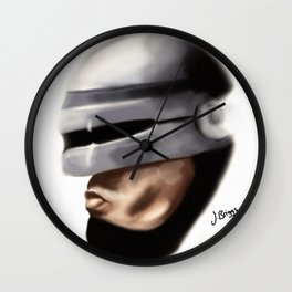 Robocop. Wall Clock