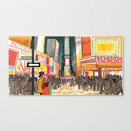 NANA in Times Square Canvas Print