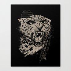 Jaguar Sun Canvas Print