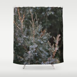 Thorny Green Shower Curtain