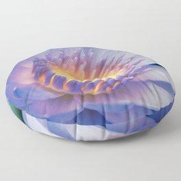 He makana nau Ke Aloha - Nymphaea stellata  - Star Lotus Floor Pillow