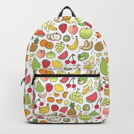 Juicy Fruits Doodle Backpack