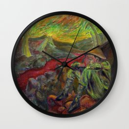and again and again nietzsche Wall Clock